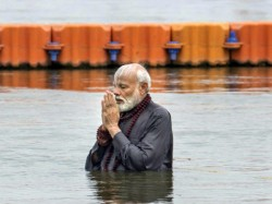 After Kumbh Mela Bath Narendra Modi Took Care Of The Surgical Strike