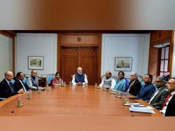 Pm Holds High Level Meet Amid Reports India S Strike On Terror Camp