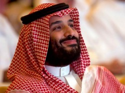 Saudi Crown Prince Mbs Presented Gold Plated Submachine Gun By Pakistan
