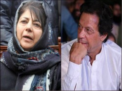 Mehbooba Mufti Praises Imran Khan Slams Bjp Over Ram Temple Issue