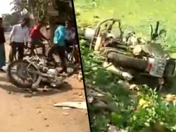 There Was Clash Between Police Local People At Patharghata New Town