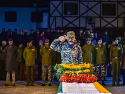The Last Rites Five Martyrs Who Gave Their Life Pulwama Encounter