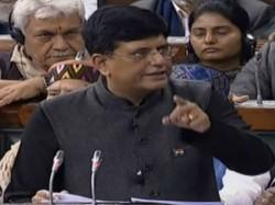 Piyush Goyal Offers Huge Tax Rebate Interim Budget