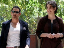 Robert Vadra Arrives At The Ed Office Connection With Money Launering Case