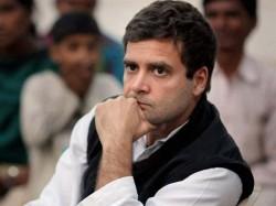 Deeply Disturbed Says Rahul Gandhi On Pulwama Ied Blast
