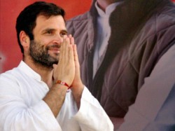 Rahul Gandhi Announces Congress Gives Dignity Paramilitary Man