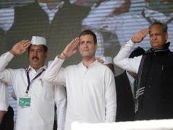 Rahul Gandhi Attacks Narendra Modi From His Meeting Ajmer