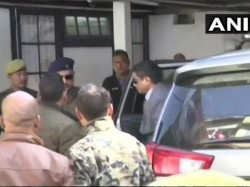Kolkata Cp Rajeev Kumar Arrives At Cbi Office Shillong Saradha Chit Fund Scam Questioning