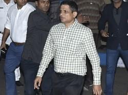 Kolkata Cp Rajeev Kumar Reaches Home From Shillong