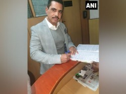 Robert Vadra Appears Ed Officials Money Laundering Case