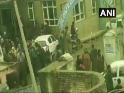 Mysterious Blast Jammu Kashmir S Pulwama School 12 Students Injured