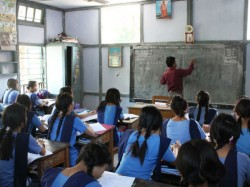 The Madhyamik Candidates Are Reduced 2019 But Girl Student Increased