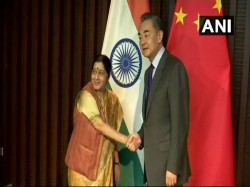 Sushma Swaraj Raises Pulwama Terror Attack With Chinese Foreign Monister China