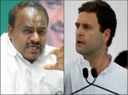 Trouble Karnataka Politics Alliance Over Seats
