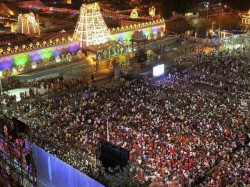 Three Golden Crowns Stolen From Temple Tirupati