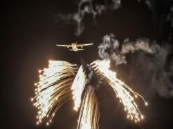 Air Force Jets Helicopters Destroy Targets Mega Exercise Vayu Shakti Rajasthan