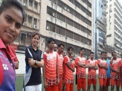 The Women Bagerhat Bangladesh Now Coach The Men S Football Team