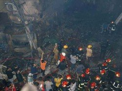 Devastating Fire Dhaka Killed About