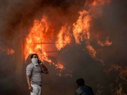 Person Burnt Purulia Fire On Friday Morning