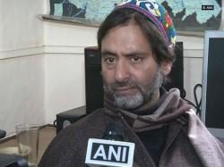 Separatist Leader Jammu Kashmir Yasin Malik Detained Srinagar