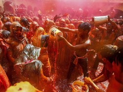 Holi 2019 Mathura Rajasthan Celebrates Colour Festival