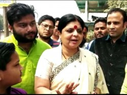 Roygunj Congress Candidate Dipa Dasmunsi Fights Against Her Companions