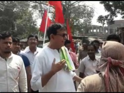 Cpm Candidate Mohammed Selim Takes Challenge Vote Campaign Walking