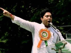 Tmc S Abhishek Banerjee Throws Open Challenge Arjun Singh Bjp