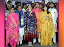 Ahead Akash Shloka Wedding Ambanis Celebrate With Anna Seva