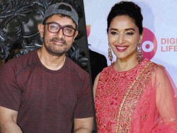 Madhuri Dixit Wishes Aamir Khan Happy Birthday Still Prank