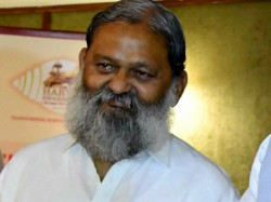 Add Pappu Before Your Name Haryana Bjp Leader Anil Vij Asks Congress Workers