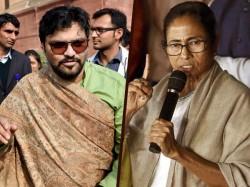 Trinamool Files Allegation Against Babul Supriyo Befor Lok Sabha Election