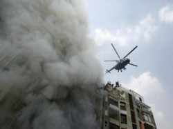 Several Killed In Devastating Fire At A High Rise Office Building Bangladesh S Capital Dhaka