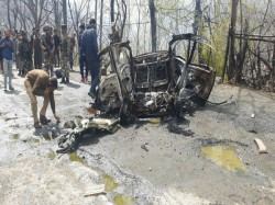 Driver Claims To Be Associated With Hizbul In Suspected Terror Attack Banihal