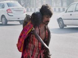 Toll Plaza Employees Tie Child Beggar Tree Snatch His Money