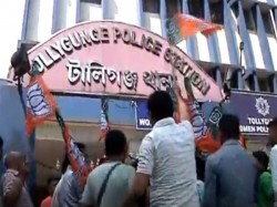 Bjp Tmc Gave Allegation Counter Allegation On Campaign Tollygunge Area