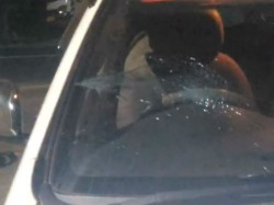 Miscreants Attacked Bharati Ghosh S Car In Ghatal In West Midnapur
