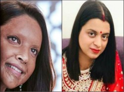 Deepika Padukone S Chhapaak Look Cheered By Acid Attack Survivor Rangoli