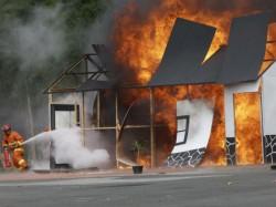 Blast Illegal Fire Works Factory Birbhum 2 Houses Destroyed