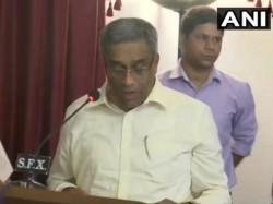 Sudin Dhavalikar Sacked As Deputy Cm By Goa Cm Pramod Sawant