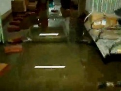 Water Over Flowed Shambhunath Pandit Hospital S Basement