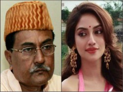 Tmc Candidate Nusrat Jahan Madhyamgram Question Over Idris Ali Absence