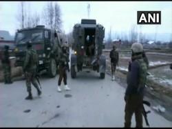One Terrorist Killed Encounter With Security Forces Handwara Jammu Kashmir