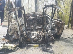 Blast In A Private Car On Srinagar Jammu Highway Near Banihal