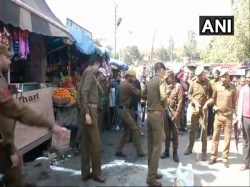 Blast At Jammu Bus Stand Area Cordoned Off Police