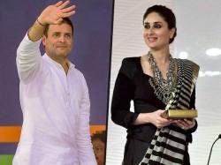 Kareena Kapoor Wanted Go On Date With Rahul Gandhi Video Got Viral