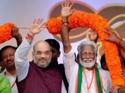 Bjp Finalises Seat Sharing Pact Kerala Lok Sabha Elections