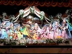 Mayapur Iskcon Temple Celebrates Dolyatra See Videos
