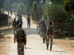Five Crpf Jawans Injured Ied Blast Dantewara Chhattisgarh