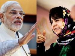Mehabuba Mufti Warns Bjp Jammu And Kashmir Will Be Detach Fr